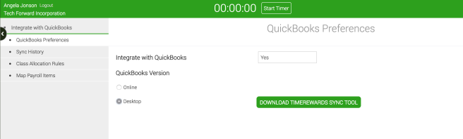 Connect to QuickBooks Desktop edition